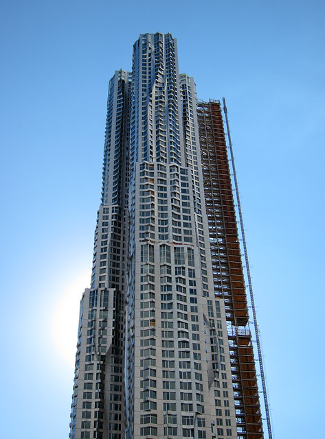 8 Spruce Street by Frank Gehry