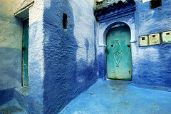 The Blue Town (All the Color) Tags: blue wall catchycolors nikon bravo morocco magical chefchaouen blueribbonwinner nikonstunninggallery abigfave colorphotoaward wowiekazowie colourlicious sarahunderhill onlythebestare usgruosssverament colourartaward artlegacy fiveflickrfavs