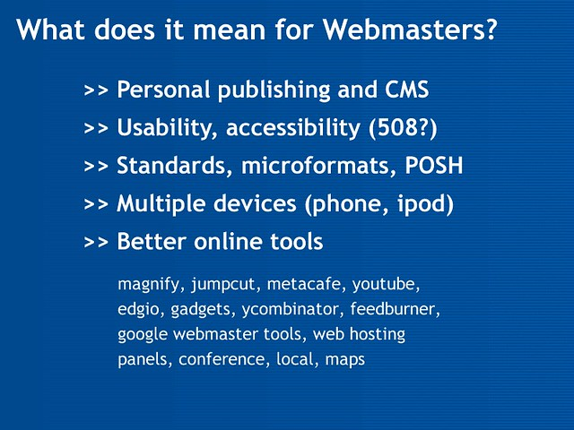 What does it mean for webmasters by Hawaii-Island