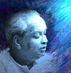 Kumar Gandharva (Shubnum Gill) Tags: music india art painting women asia delhi classical potrait gill gwalior newdelhi vocal kumar hindustani gandharva gharana shubnum ragaas shubnumgill wwwshubnumgillcom