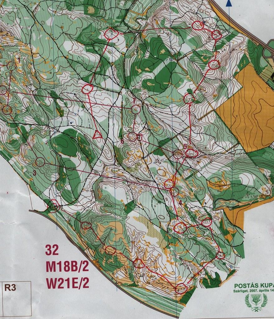 Zuppa edzés térképe
