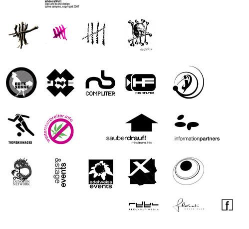 schönereWelt! logo design samples