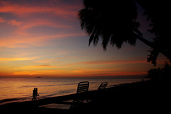 Rincon Sunset - by Bill Gracey