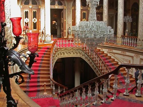Dolmabahçe palota belülről