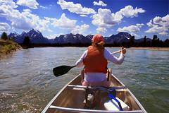 Snake River, Grand Teton National Park (woodleywonderworks) Tags: water river cool paddle canoe snakeriver grandteton