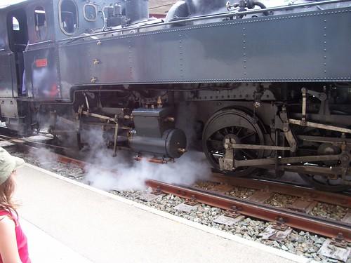 Jura Swiss steam train