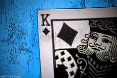 KingOfDiamonds (Troy Thomas) Tags: bicycle rebel card playingcards troythomas kingofdiamonds canon