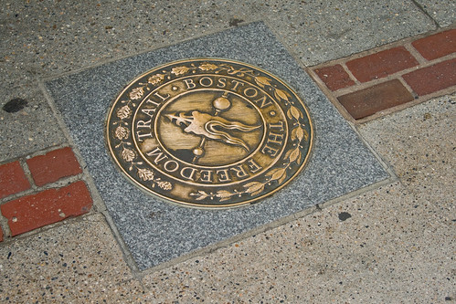 Freedom Trail emblem