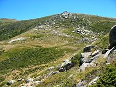 Sur les crêtes vers Bocca di Chiralba: Bocca di Chiralba