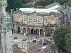 View of City Art Gallery from roof of York Minster - by ramson