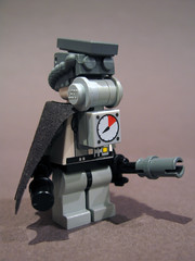 Post-Apoc Bounty Hunter (legovaughan) Tags: lego custom rebreather moc minfig postapoc