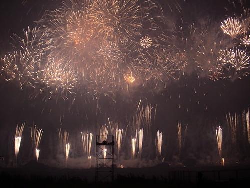 Setagaya City Tamagawa Fireworks