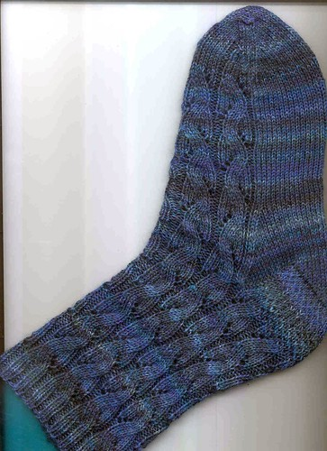 Falling Water Socks