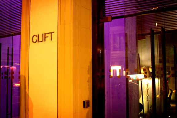 The Clift Front
