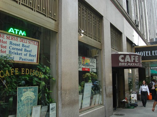 Cafe Edison, Midtown NYC