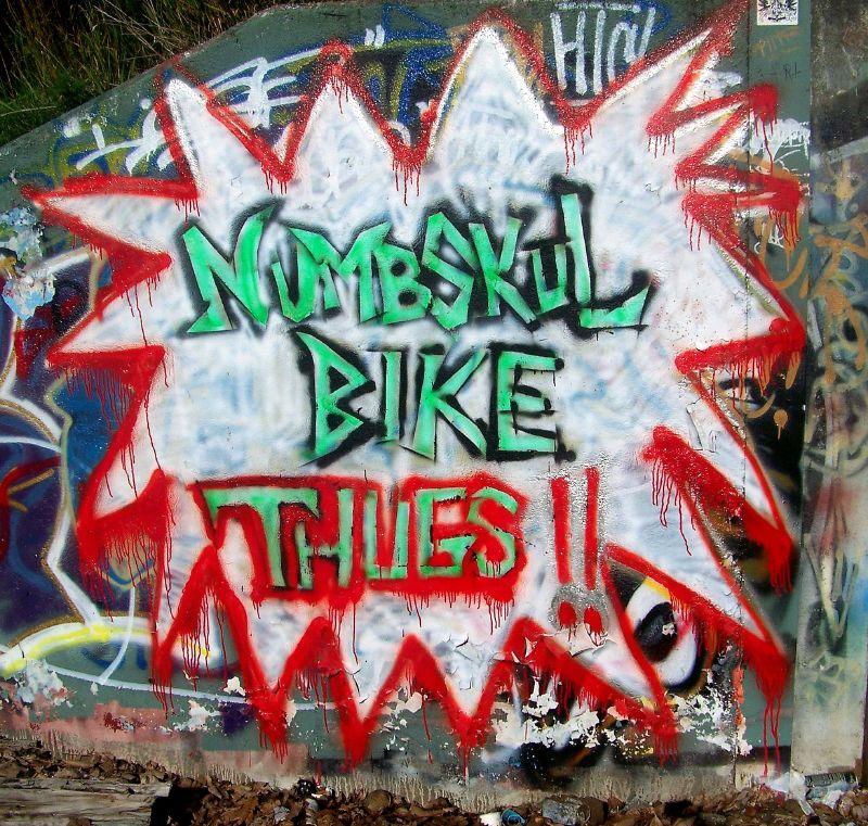 Numbskull Bike Thugs