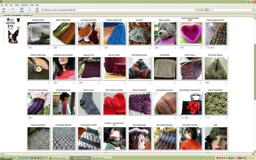Ravelry Projects