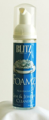 Blitz Foamz Non-Aerosol Gem and Jewelry Cleaner