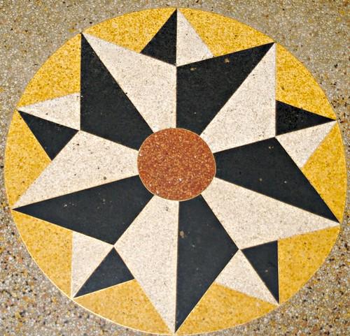 Lion d'Or, Terrazzo Floor