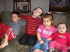 liam, otto, hallie and annabel