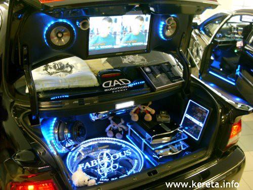 Full Modification Designs Modified Sound Ststem Interior Car