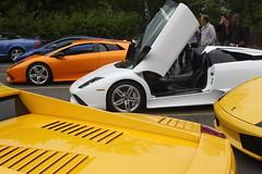 IMG_1046 (Lamborghini obsessed) Tags: paul lamborghini harrington murcielago gallardospyder 5604 lp640 valentinobalboni lp640roadster gallardocoupe dreamcarlegendstour