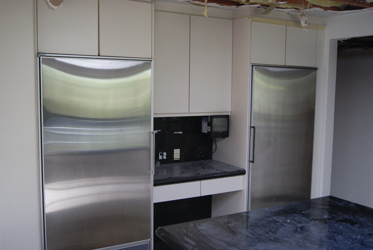 Sub Zero Refrigerator + Freezer