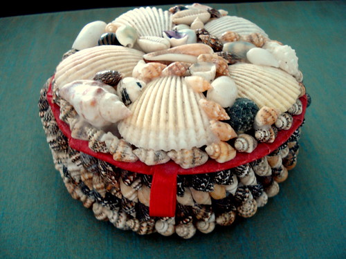 Sea Shell Jewelry Box by you.