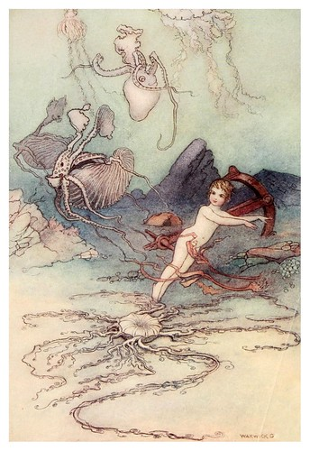 006-The water-babies a fairy tale for land-baby 1909-ilustrado por  Warwick Goble