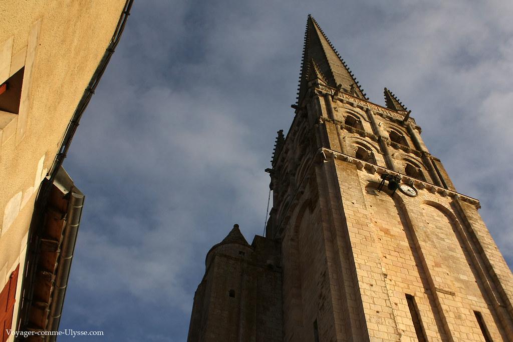Clocher de l'église de l'Abbaye