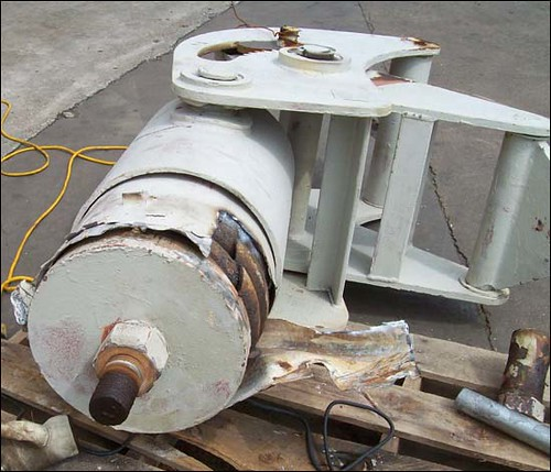 Constant Spring Assemblies Custom Designed for Replacement of Failed Supports