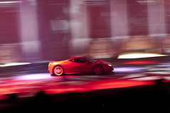 Top Gear LIVE Ferrari 458 Italia (Jared Benney) Tags: james pentax may jeremy richard hammond mph hampster clarkson k7 jezza thestig captainslow topgearlive