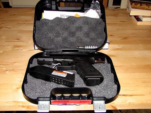Glock 17 Case Open