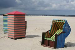 stripes (loop_oh) Tags: sea beach chairs north insel northsea juist wicker nordsee isle lutgerdina roofed roofedwickerbeachchairs