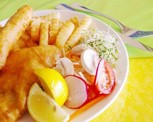 Fish + Chips + Salad