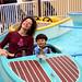 Karen Noah motorboat1
