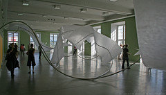 documenta 12 | Iole de Freitas / Raum sprengende Skulpur | 2007 | Fridericianum 2. floor
