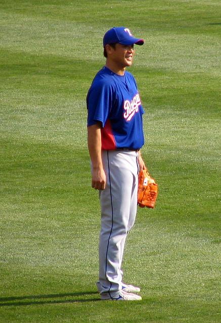 Akinora Otsuka, Pitcher, #40, Texas Rangers