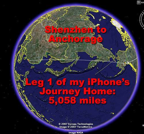 Shenzhen to Anchorage