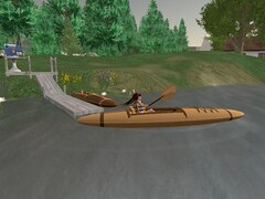 Kayaking in Livingtree