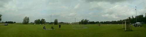 beim pogocup, fussballturnier in schweinfurt