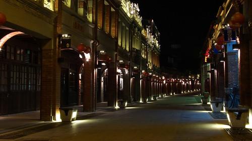 三峽老街dark