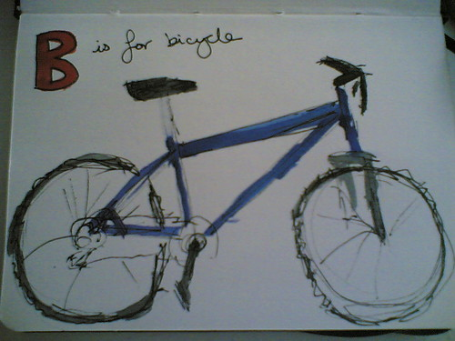 B is for Bicycle