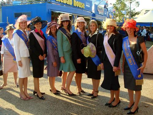 Ruth, Shannon, Kate, Cat, Megan, Krystelle, Sally-Ann, Merridy and Rachel