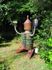 Scrap Metal Man (Pandorea...) Tags: sculpture art metal garden robot folk outsider scrap tinman avantgarden invited