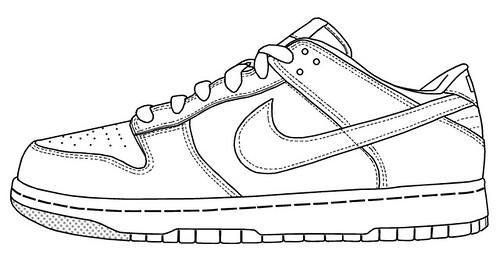 blank nike shoes