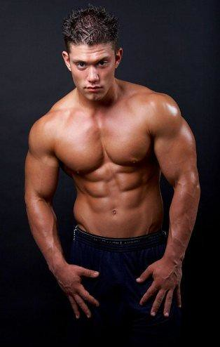 muscle fitness male model hot hunk picture