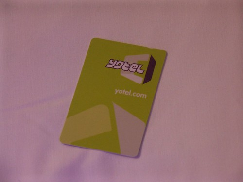yotel card key from Flickr
