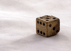 Bone Die (retro traveler) Tags: dice macro union confederate civilwar bone artifact spanishamericanwar