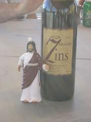 Jesus has some Sinful Wine!